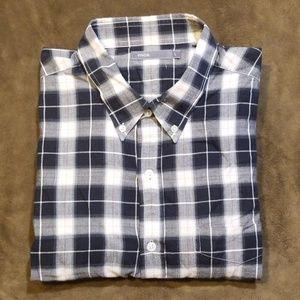 Vince Men's Plaid Long Sleeve